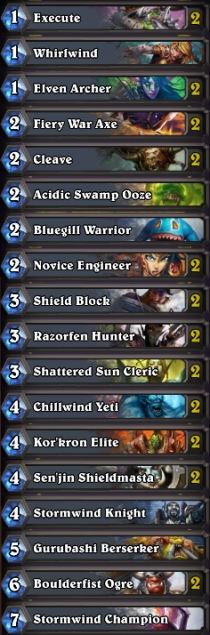 hearthstone-best-basic-warrior-deck