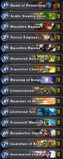 how to build a priest arena deck