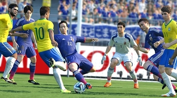Pro Evo World Cup game tops Japanese chart