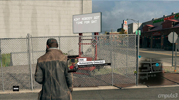 Stuck In Cameras Watch Dogs