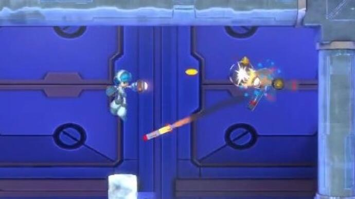This Mighty No. 9 gameplay is absolutely, definitely not at all MegaMan