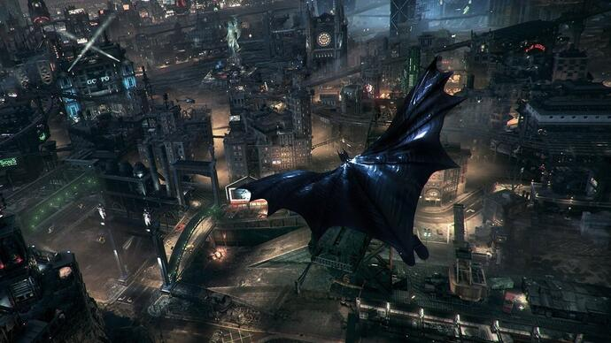 Watch five minutes of Batman: Arkham Knight gameplay