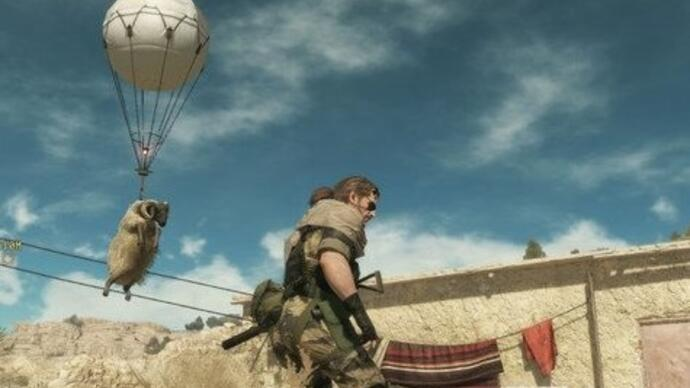 Gameplay-beelden Metal Gear Solid V: The Phantom Pain vanmiddag live