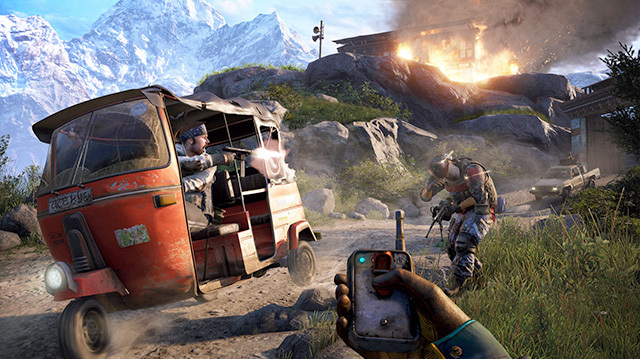 Far Cry 4 Lets You Cut Brakes on Vehicles, Stick C4 on Elephants