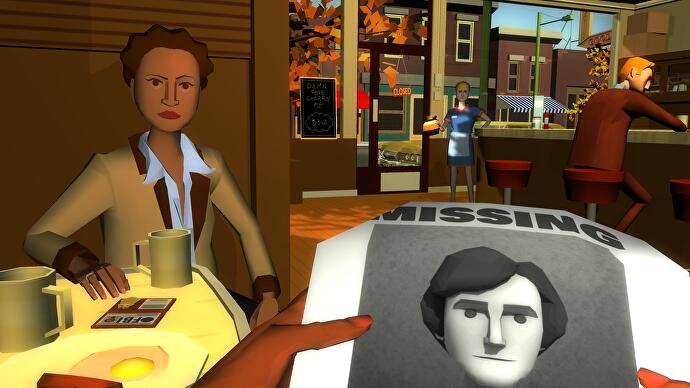 Virginia is a first-person interactive drama inspired by Twin Peaks and X-Files