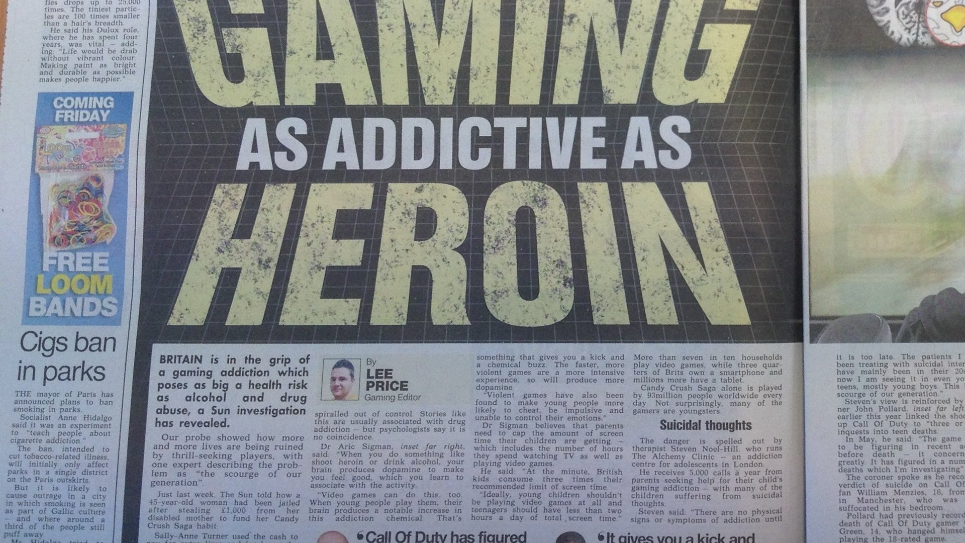"The real story behind The Sun's ""Gaming as addictive as heroin"" headline"