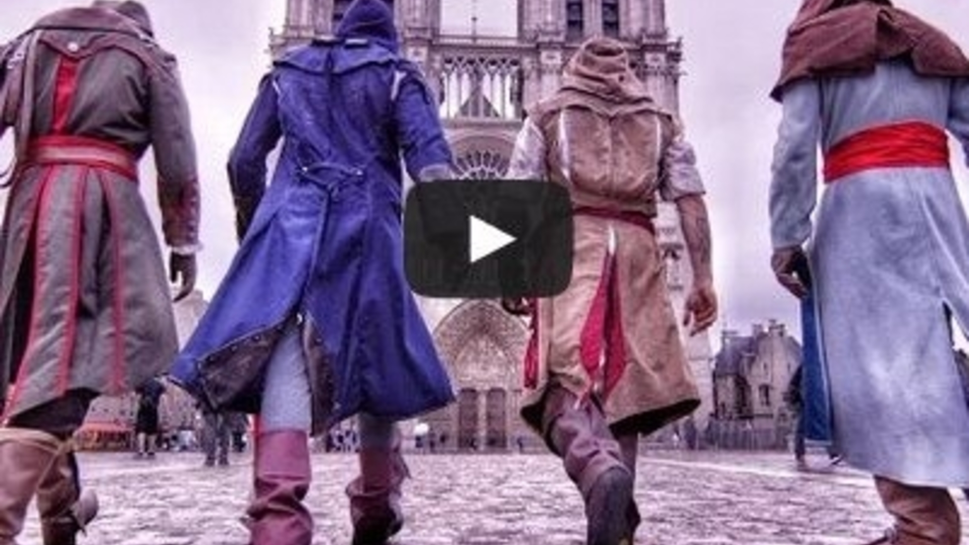 Watch this parkour team go Assassin's Creed over Paris rooftops