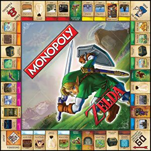 Officially licensed legend of zelda monopoly revealed for Housse zelda