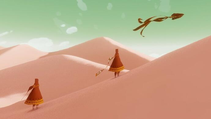 Journey and The Unfinished Swan confirmed for PS4