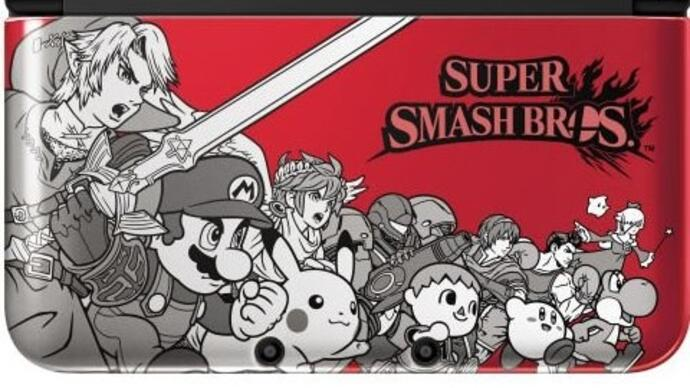 Nintendo confirms limited edition 3DS XL for Super Smash Bros. launch