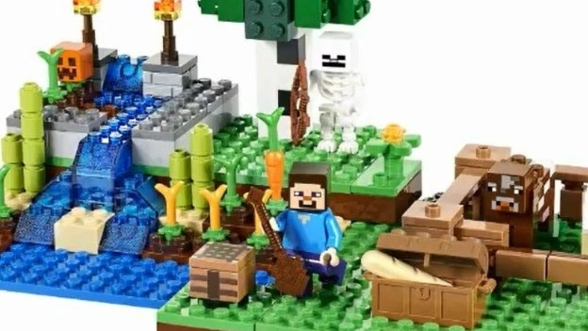 New full-size Lego Minecraft range revealed