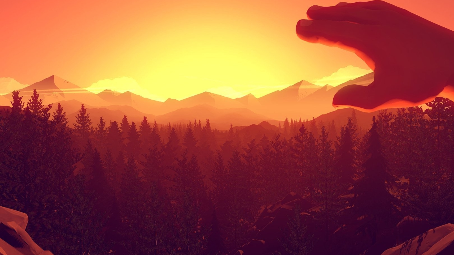 Wilderness exploration mystery Firewatch reveals gameplay in debut trailer