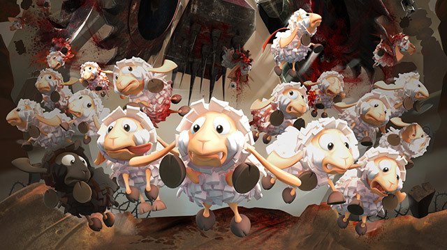 Flockers is Lemmings but with Sheep, Watch Us Play It on Xbox One