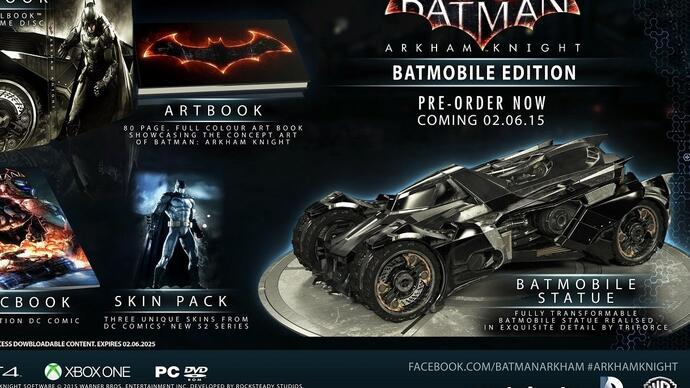 Batman: Arkham Knight gets a June release date