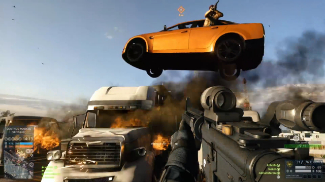 Battlefield Hardline's Hotwire Mode Adds Spectacular Car Chases to Multiplayer