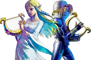 Zelda and Sheik are separate Smash Bros. characters due to 3DS limitations