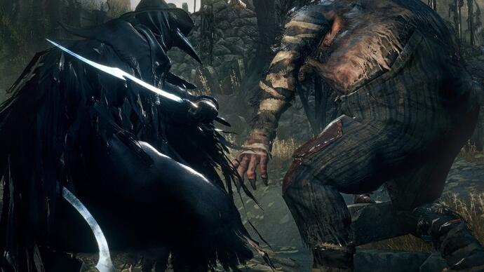 Bloodborne - Gameplay da fase Alpha