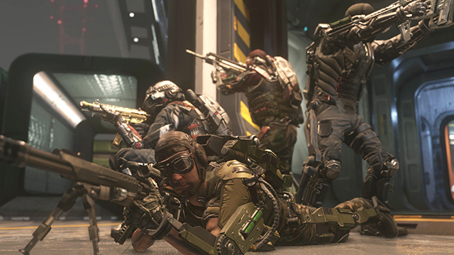 'You're in a Thunderdome' in Call of Duty: Advanced Warfare's Exo Survival Mode