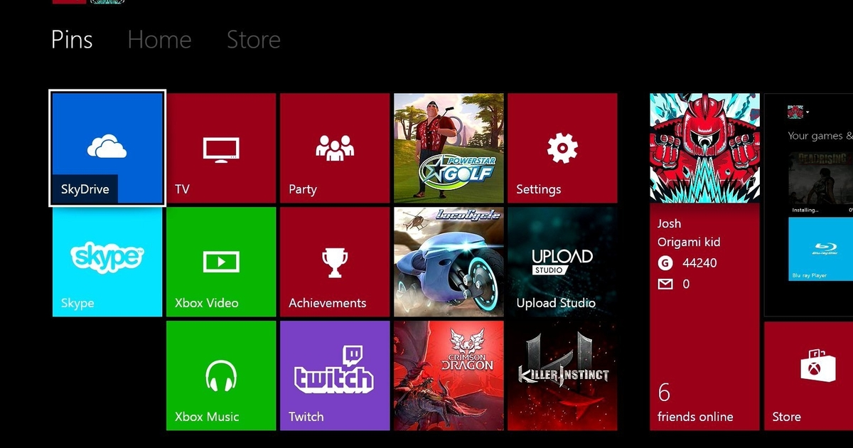 Xbox One To Get Themes Background Pics Screenshot