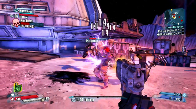 Two Claptraps is Twice the Chaos in Borderlands: The Pre-Sequel Co-op Gameplay