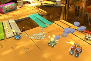 Codemasters making a Micro Machines-style racer called Toybox Turbos