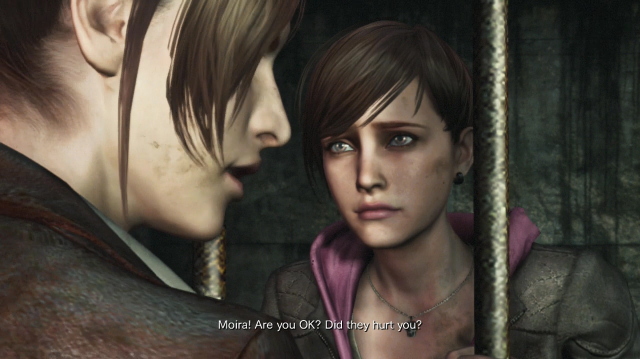 Resident Evil Revelations 2's Moira Has Quite the Potty Mouth