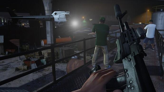 Grand Theft Auto 5 first-person mode confirmed for PC, PS4, Xbox One