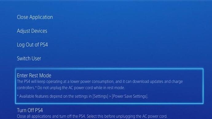 PS4 software update v2.01 to tackle Rest Mode problem