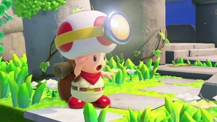 Gameplay de Captain Toad: Treasure Tracker