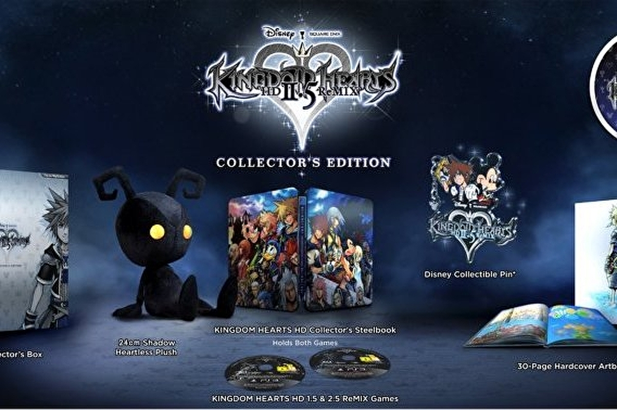 Kingdom Hearts HD 2.5 Remix Collector's Edition adds 1.5 Remix