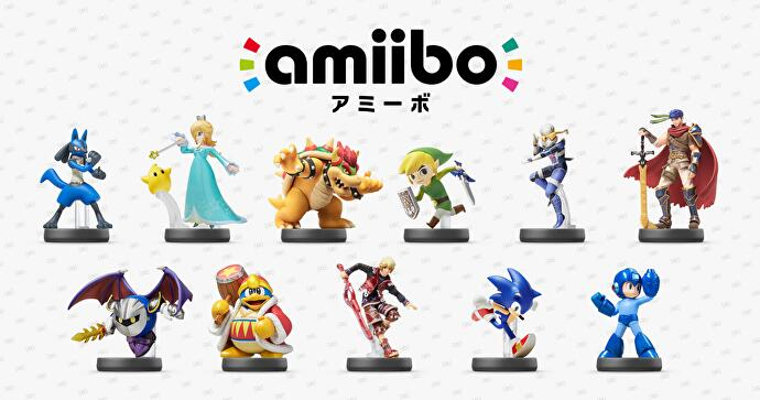 Nintendo shows off another two waves of Amiibo toys • Eurogamer net