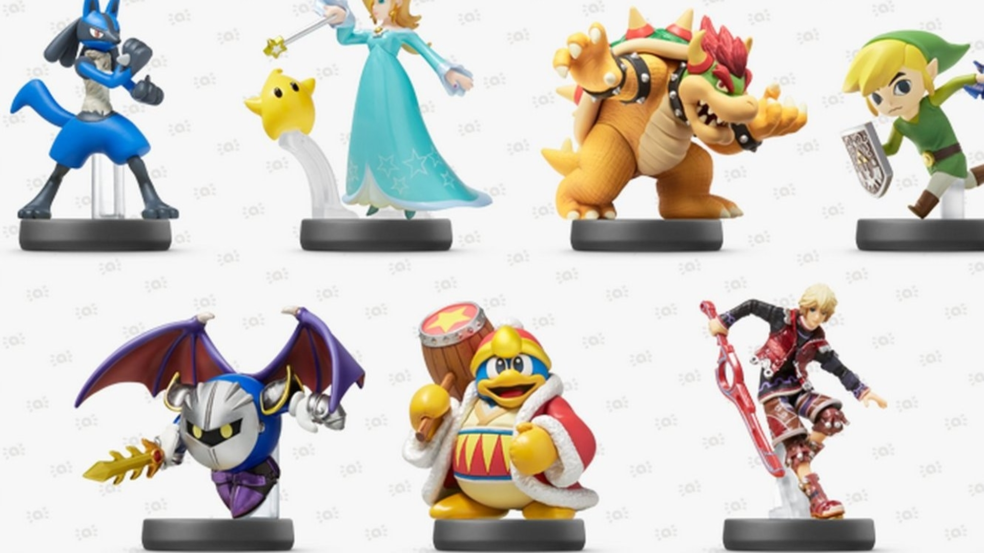 Nintendo shows off another two waves of Amiibo toys