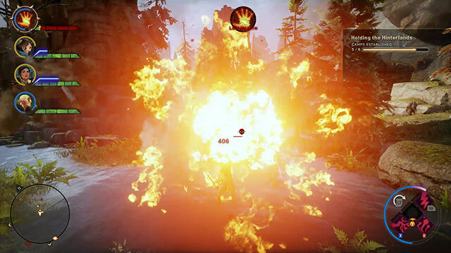 This Is How a Dragon Will Wreck Your S**t in Dragon Age: Inquisition