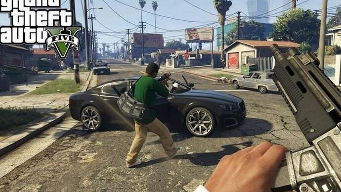 GTA V: nuovi video gameplay in prima persona
