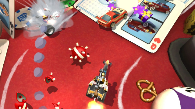 Toybox Turbos Is Exactly Micro Machines