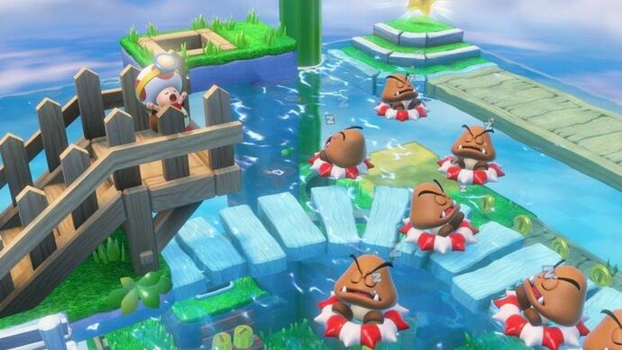 Nuevo vídeo con gameplay de Captain Toad: Treasure Tracker