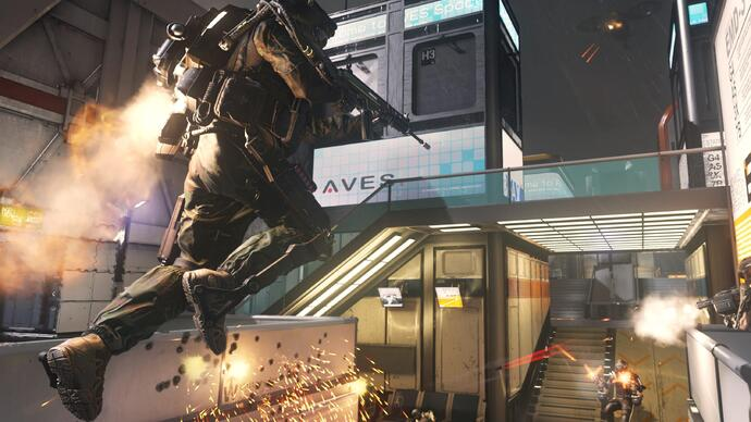 "Call of Duty: Advanced Warfare just received its ""biggest title update yet"""