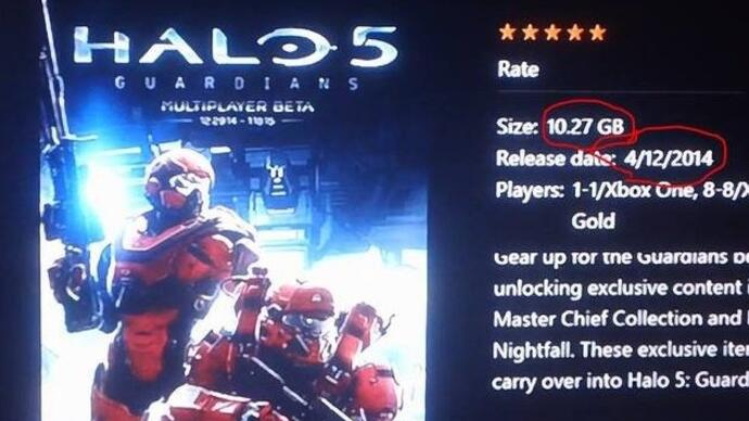 Halo 5: Guardians beta will weigh in at 10.27GB -report