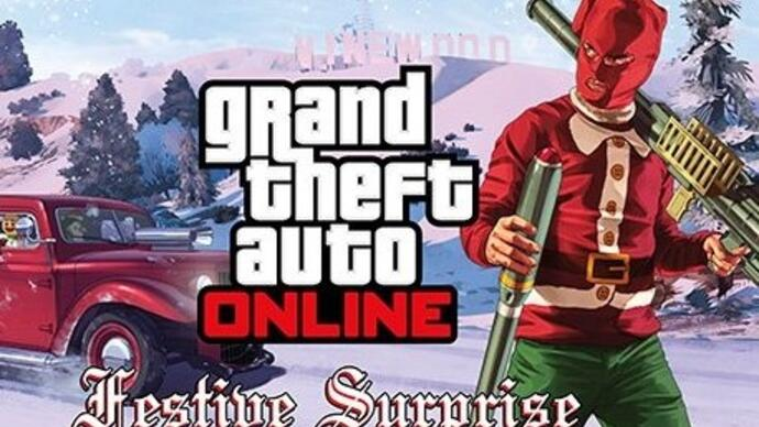 Festive Surprise è il nuovo update di GTA V