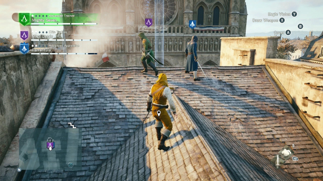 Assassin's Creed Unity Rooftop Chase Elevates the Oxbox Xmas Challenge
