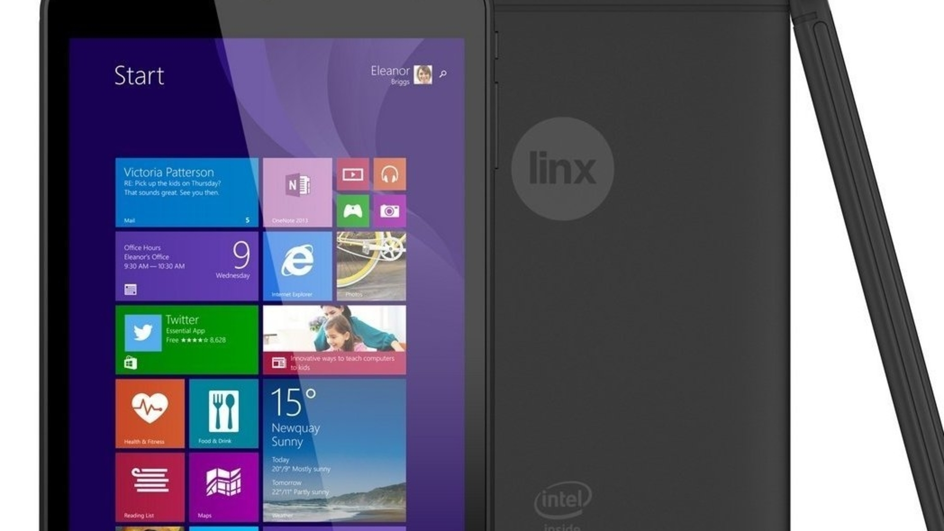 Linx 8 review - exploring the sub-£100 Windows tablet experience
