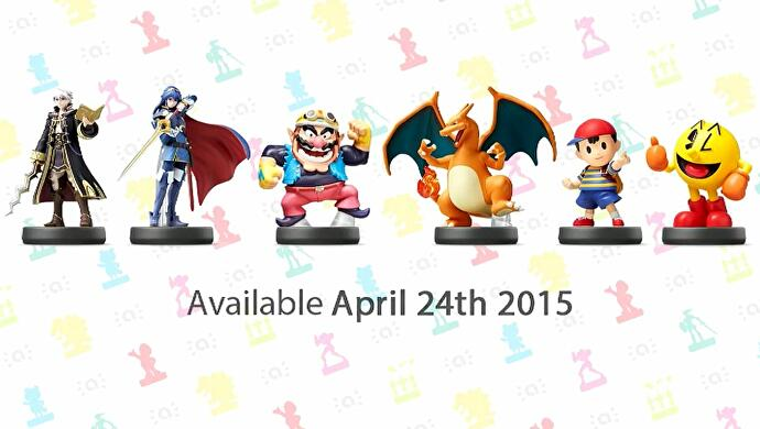 Nintendo announces new Smash Bros  and Mario-themed Amiibo waves