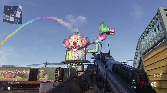 Is Sideshow the Weirdest Map in Call Of Duty History?
