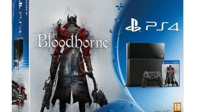 Bundle PS4 com Bloodborne confirmado para a Europa