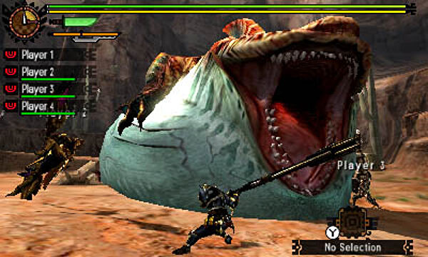 monster hunter 3 rom
