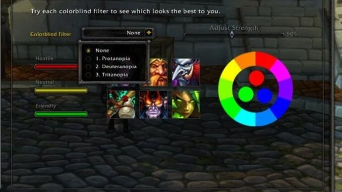 World of Warcraft patch 6.1 brings colourblind support