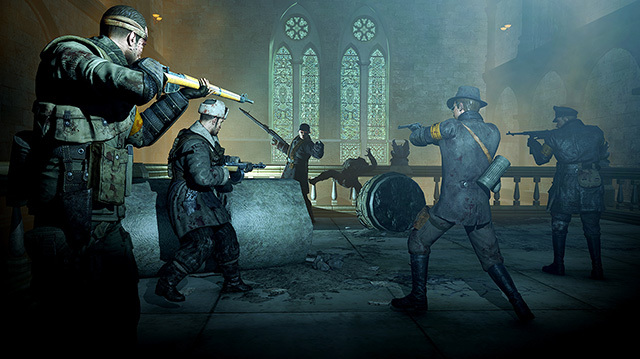 Zombie Army Trilogy Horde Mode Is Relentless in Xbox One Gameplay
