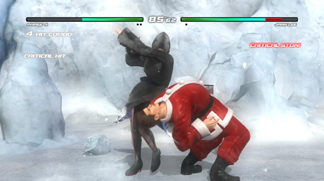 Dead Or Alive 5: Last Round on Xbox One Is Surprisingly Festive