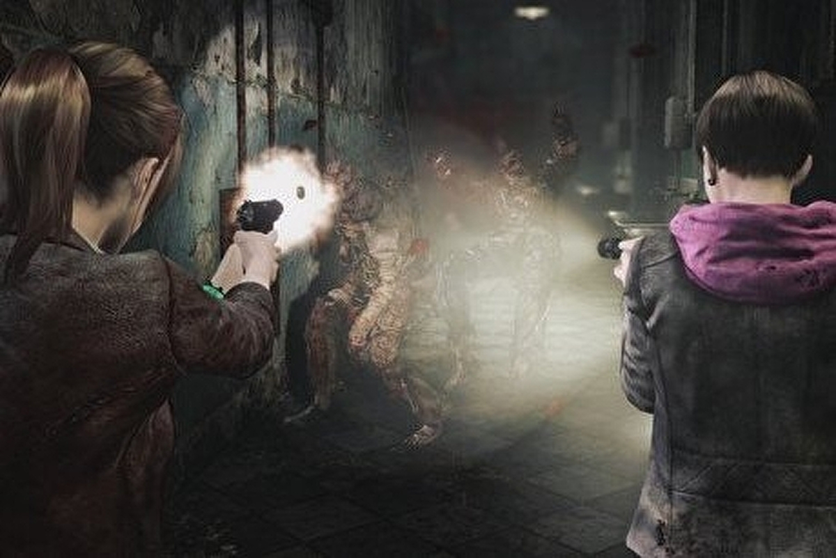 Resident Evil Revelations 2 Pc Gets Local Co Op After All Eurogamer Net