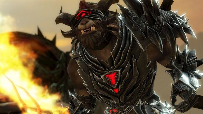 First gameplay of Guild Wars 2: Heart of Thorns World vs. World Desert Borderlands map